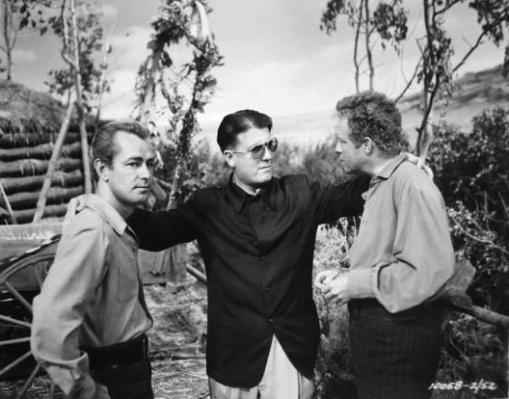 Alan Ladd,George Stevens, Van Heflin