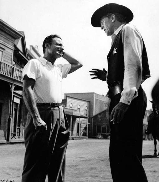 Fred  Zinnemann, Gary Cooper. HIGH NOON