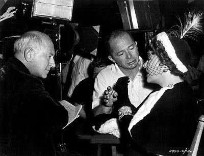 Cecil B DeMille,Billy Wilder, Gloria Swanson Sunset Boulevard