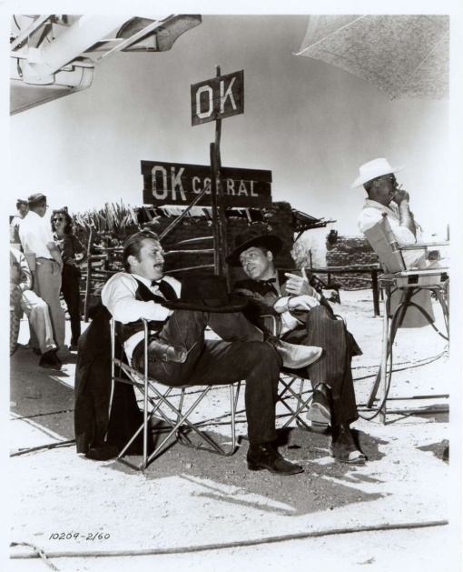 Kirk Douglas,Burt Lancaster Gunfight at the OK Corral