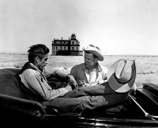 James Dean,George Stevens
