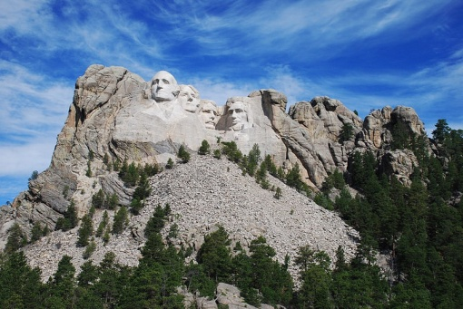 The real Mount Rushmore