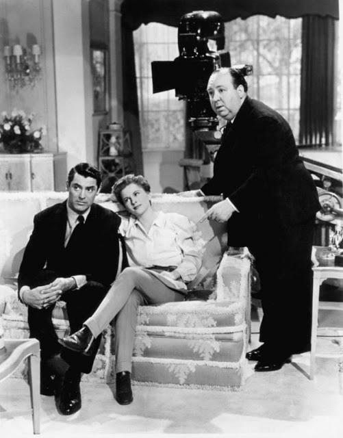 Cary Grant,Joan Fontaine.Suspicion