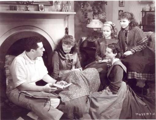 George Cukor,Katharine Hepburn,Frances Dee,Joan Bennett, Jean Parker  Little Women