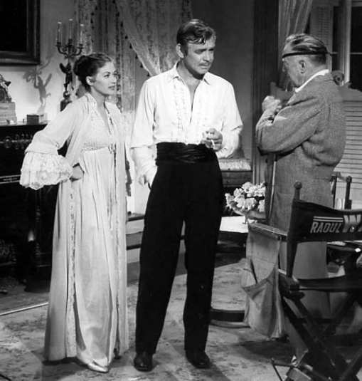 Yvonne de Carlo,Clark Gable,Raoul Walsh Band Of Angels