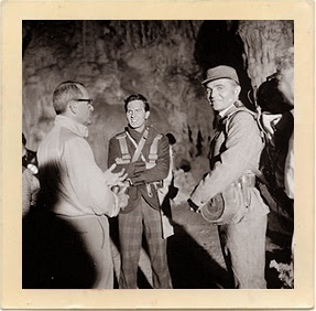 Pat Boone, James Mason. Journey to the center  of the Earth
