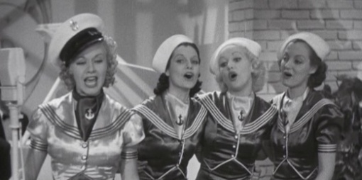 """""""Let Yourself Go"""" (Betty Grable in chorus)"""