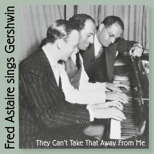 Fred with George and Ira Gershwin