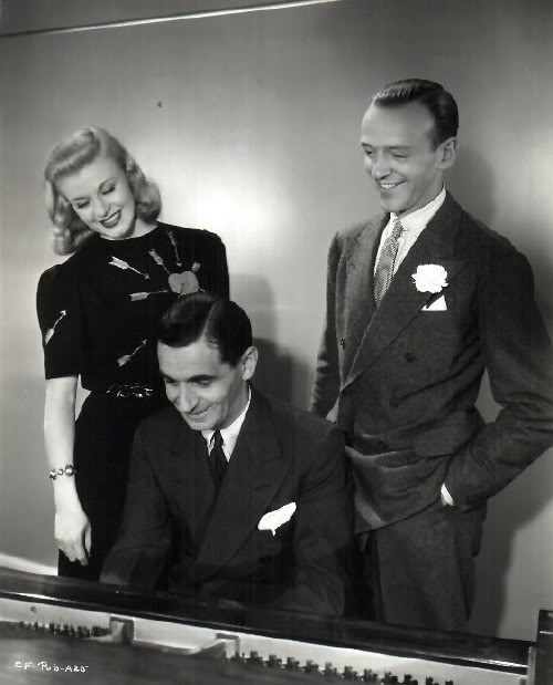 Fred and Ginger with Irving Berlin