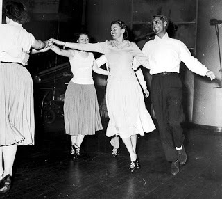Ingrid Bergman,Cary Grant in rehearsal
