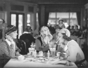 Ann with Bette Davis,Joan Blondell