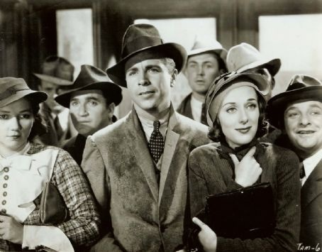 with Patsy Kelly, Dick Powell