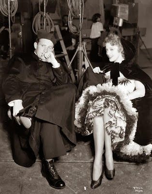 Spencer Tracy,  Jeanette  MacDonald.SAN FRANCISCO