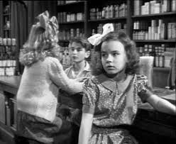 "Jean Gale as young Mary. ""George Bailey,I'll love you 'til the day I die."""