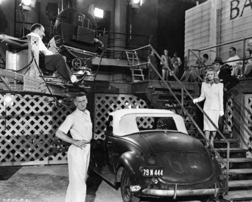 Director John Cromwell, Humphrey Bogart.Lizabeth Scott.DEAD RECKONING