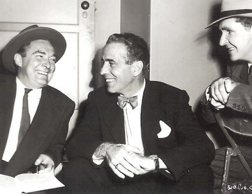 Roy Roberts, Humphrey Bogart. Bob Steele.THE ENFORCER