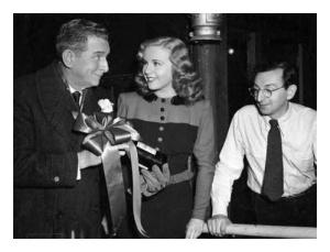 Edward Everett Horton,Deanna Durbin,Charles David