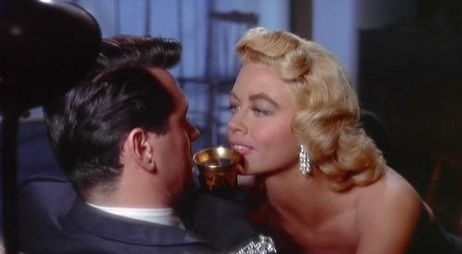 With  Rock Hudson in Written On The Wind