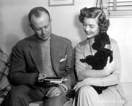 H.C. Potter, Myrna Loy.MR BLANDINGS BUILDS HIS DREAM HOUSE.