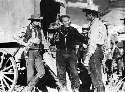 Robert Young, Fritz Lang, Randolph Scott