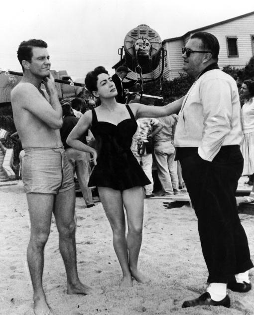 Cliff Robertson, Joan Crawford,Robert Aldrich. AUTUMN LEAVES