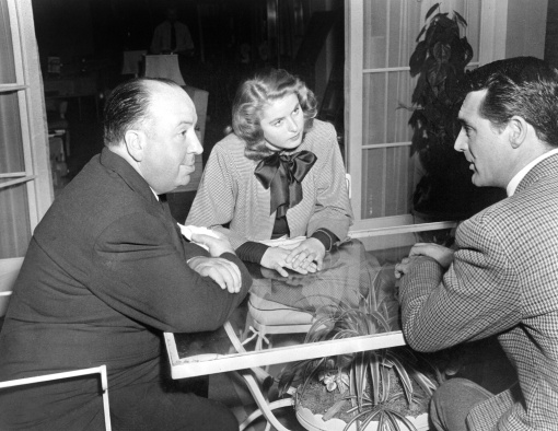 In conference. Cary and Ingrid. NOTORIOUS