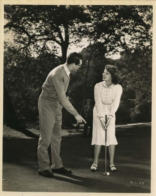 Cary Grant,Katharine Hepburn.BRINGING UP BABY