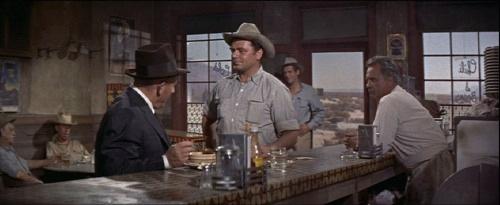 Spencer Tracy,Ernest  Borgnine.Ln.BAD DAY AT BLACK ROCK