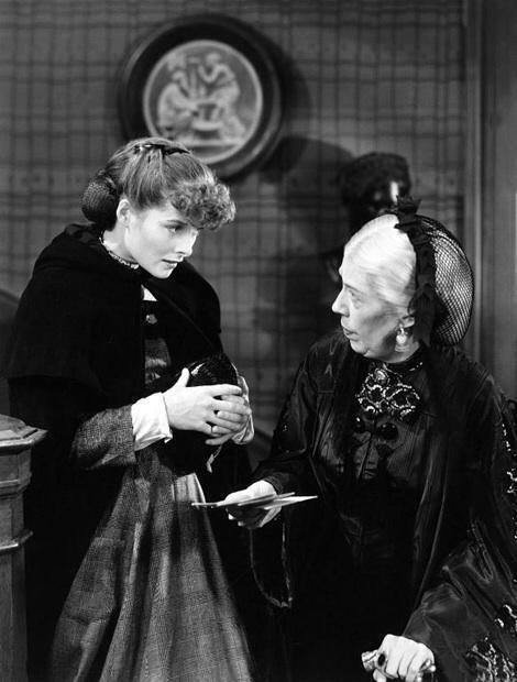 With Katharine Hepburn. Little Women