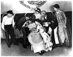 Show Boat. 1927 Broadway. Edna May far right.