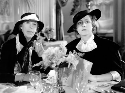 With Irene Dunne. Ann Vickers
