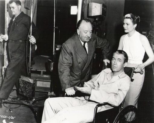 With James Stewart,Grace Kelly. REAR WINDOW