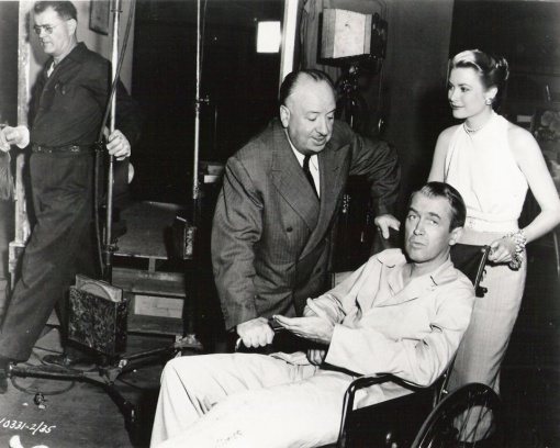 With James Stewart,Grace Kelly. REAR WINDOW