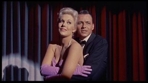 With Frank Sinatra.Pal Joey.