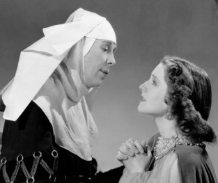 With Norma Shearer. Romeo and Juliet