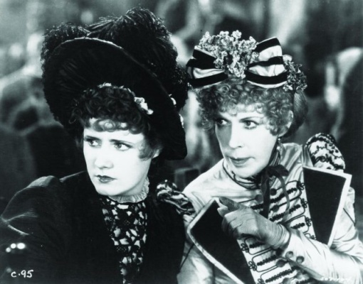 With Irene Dunne.Cimarron