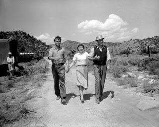 Ralph Meeker,Barbara Stanwyck,Barry Suloivan.JEOPARDY