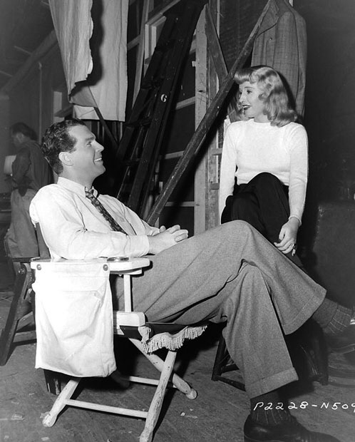 Fred MacMurray,Barbara Stanwyck.DOUBLE INDEMNITY