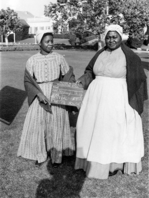 Butterfly McQueen, Hattie McDaniel. GONE WITH THE WIND