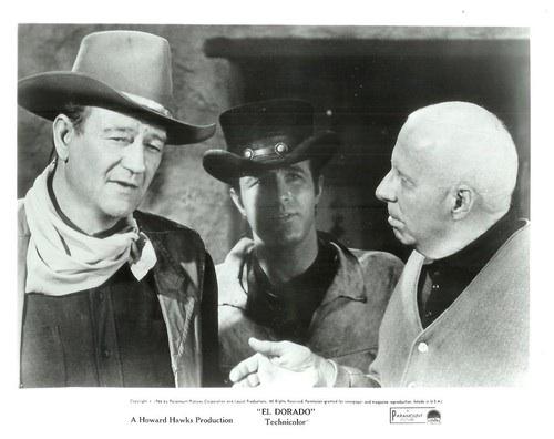 John Wayne,James Caan, Howard Hawks.ELDORADO