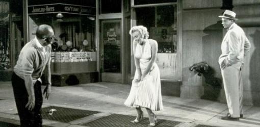Billy Wilder,Marilyn Monroe ,Tom Ewell.SOME LIKE IT HOT