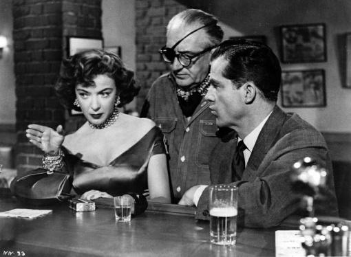 Ida Lupino,Fritz. Lang,Dana Andrews.WHILE THE CITY SLEEPS
