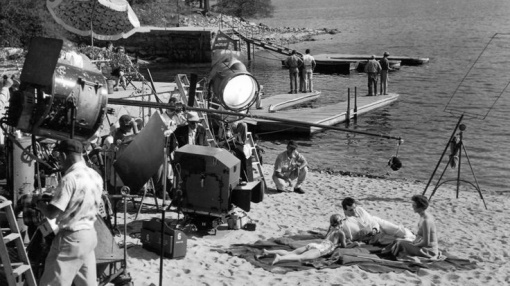 Rock Hudson,Jane Wyman. MAGNIFICENT OBSESSION