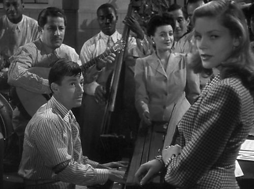 Hoagy Carmichael,Lauren Bacall. TO HAVE AND HAVE NOT