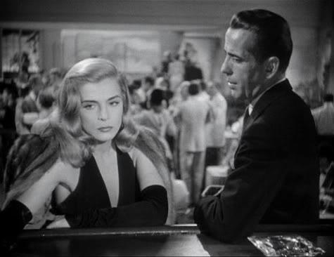 Lizabeth Scott,Humphrey Bogart.