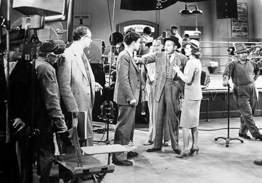 Rouben Mamoulian,William Holden, Adolphe Menjou,Barbara Stanwyck. GOLDEN BOY.