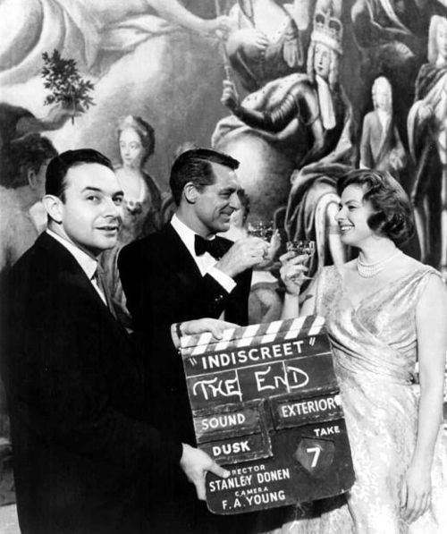 Stanley Donen,Cary Grant.Ingrid Bergman.INDISCREET.