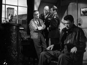 Paul Stewart,Dean Jagger,   Gary Merrill, Gregory Peck