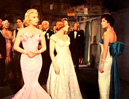 Bess at left. Dolores Gray,June Allyson,Joan Collins. The Opposite Sex.