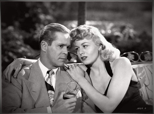 Dan Duryea, Shelley Winters.